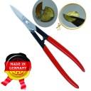 Ножницы ювелирные классические 165 мм, легко режут 50 коп. монету   (Оригинал, с клеймом производителя) ГЗ-51487