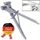 Плоскогубцы для волочения проволоки 145мм  инструментальная сталь.  (Оригинал, с клеймом производителя) ГЗ-51335