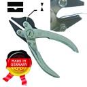 Плоскогубцы 140 мм, нос прямой + прямой с зубьями ,в нижнем канавка , боковой резак.  ГЗ-51451