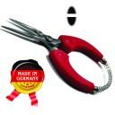 Клещи плоскогубцы 120 мм,нос овал + овал .для цепевязания , длинный носик .инструментальная сталь. с пружиной (Оригинал, с клеймом производителя) ГЗ-51261  (