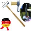 Ювелирный молоток 80мм , для закрепки камней .инструментальная сталь.  (Оригинал, с клеймом производителя) ГЗ-51516