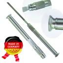 Рукоять, под швейцарский надфиль . Очень удобная .инструментальная сталь.  (Оригинал, с клеймом производителя) ГЗ-51597 (copy)