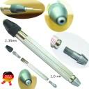Точные тиски  2  закаленные цанги 2,35 и 1 мм инструментальная сталь. Исключительное качество. (Оригинал, с клеймом производителя) ГЗ-51584