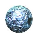 Шарик 12*2,5 mm   графика алмазная грань серебро 925 проба 1,97 гр