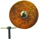 Спеченный алмазный диск  на твердосплавном дискодержателе 22мм 0,35мм мягкий