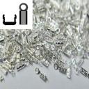 Концевик   на леску диаметром до 0,8 мм серебро 925( 0,04 грамма)