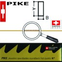 Пилки PIKE 5/0( Vallorbe  Switzerland ) А-0,41мм В-0,21мм. Цена указана за пучёк (12 штук)