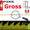 Гросс. Пилки PIKE 7/0( Vallorbe  Switzerland ) А-0,36 мм В-0,18мм . Цена указана за Гросс.(12 пучьков)