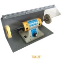 Полировальный станок c защитным козырьком , TM-2F.  Выходная мощность 200 W  от 0 до 10000 оборотов. Комплект такой как на фото .