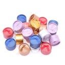 "Коробочка ""Круг с бантом 5 х 5 х 3,5 см"" розовый"