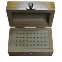 Коробка для боров деревянная 36 отверствий