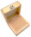 Коробка для боров деревянная 72 отверствий