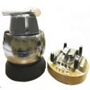 Тиски шаровые-шрабкугель, 120 мм с аксессуарами 5 кг S136