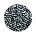Наполнитель d= 1.5 мм 100 грамм для виброгалтовки и галтовки магнитной, шарики стальные
